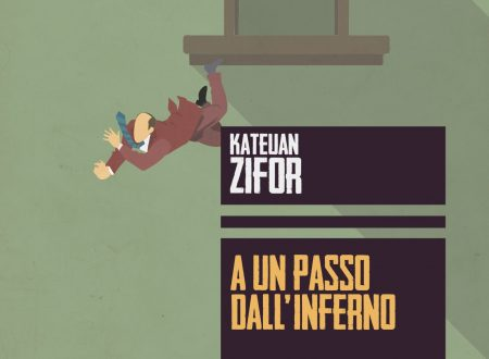 """A UN PASSO DALL'INFERNO"" ROMANZO GIALLO DI KATEUAN ZIFOR  ed. ALTEREGO AUGH"