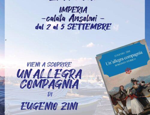 UN'ALLEGRA COMPAGNIA romanzo storico di Eugenio Zini editore Leucotea